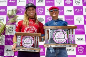 Courtney e Sage (Kenny Morris / WSL via Getty Images)