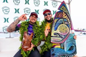 Medina e Owen (Kelly Cestari / WSL via Getty Images)