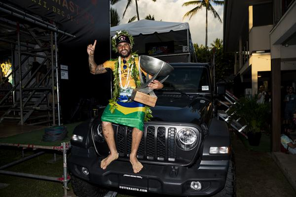 Jeep de prêmio (Kelly Cestari / WSL via Getty Images)